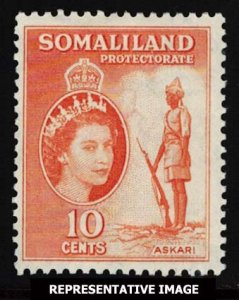 Somaliland Protectorate Scott 129 Mint never hinged.