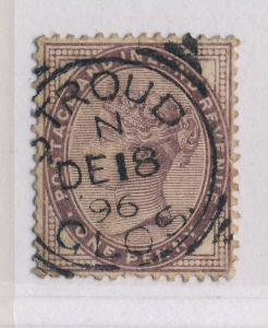 GB - SG172 CANCELLED STROUD / GLOS. SQUARED CIRCLE DATE STAMP (type 2)