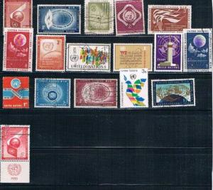 United Nations Mixed Lot used and unused (ML0085)