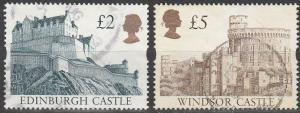 Great Britain #1447, 1448  F-VF Used CV $5.50 (D2284)