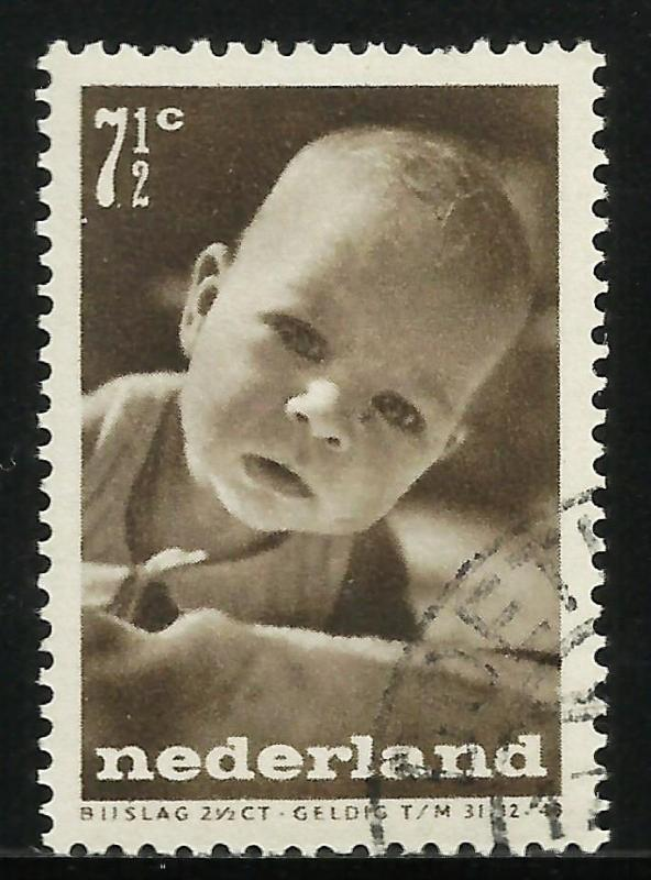 Netherlands Semi Postal 1947 Scott# B182 Used or CTO