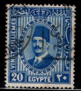 Egypt Scott 143 Used stamp