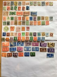 Great Britain x 100 older stamps - Lot B