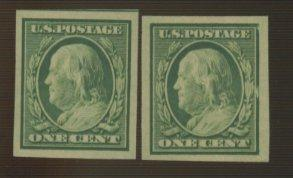 343 (2) MINT VF OG NH Cat$17