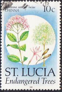 St. Lucia    #953   Used