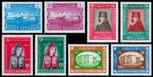 Afghanistan Scott 506-507, 508-509, 510-511, 512-513 (1961) Mint LH VF C