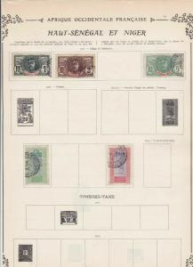 senegal stamps sheet ref 11116