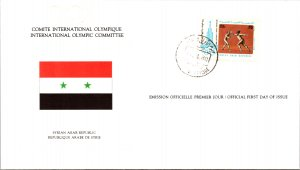Olympics, Flags, Syria