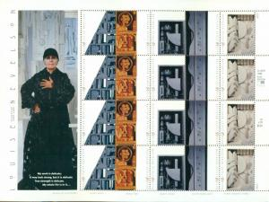 US: 2000 LOUISE NEVELSON - Art; Sheet of 20 Sc 3383a; 33 Cents Values; Sculpture
