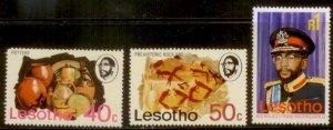 Lesotho 1976 SC# 206-8 MNH  L156