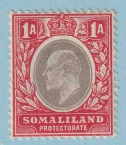 SOMALILAND PROTECTORATE 41  MINT HINGED OG * NO FAULTS EXTRA FINE !