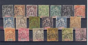 Indo-China,3-21 (19v),Navigation & Commerce Singles,**Used**