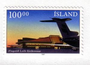 Iceland Sc638 1987 Keflavik Airport stamp mint NH