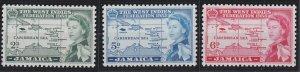 Jamaica 175-177 MNH (1958)
