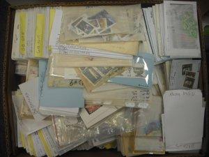 22lb Banker Box of World-Wide & British Commonwealth M/U (AH1)