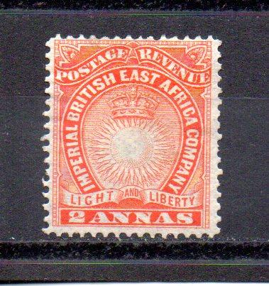 British East Africa 16 MHH