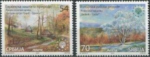 Serbia 2020. European Nature Protection (MNH OG) Set of 2 stamps
