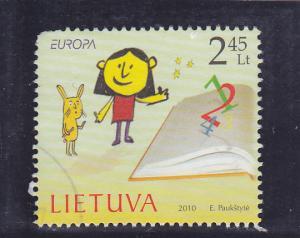 Lithuania  Scott#  917  Used
