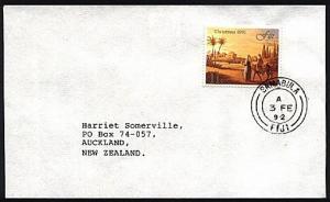 FIJI 1992 cover to NZ : SAMABULA cds.......................................70393