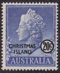 Christmas Island #8 Mint
