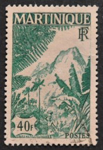 DYNAMITE Stamps: Martinique Scott #233 – USED