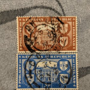 Ireland 138040 F-VF set, CV $8.50