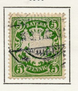 Bayern Bavaria 1911 Early Issue Fine Used 5pf. NW-120742