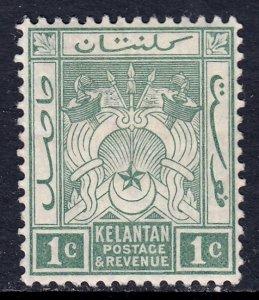 Malaya (Kelantan) - Scott #1 - MH - SCV $8.00