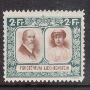 Liechtenstein #107a VF Mint Perf 11.5 x 10