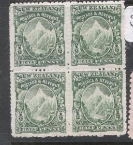 New Zealand SG 294 Block of Four MNH (5dlk)