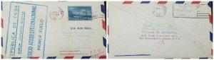 O) 1931 SPANISH ANTILLES, FIRST INTERNATIONAL FLIGHT, AIRPLANE AND COAT SC C5 10