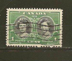 Canada 246 HRH Elizabeth Used
