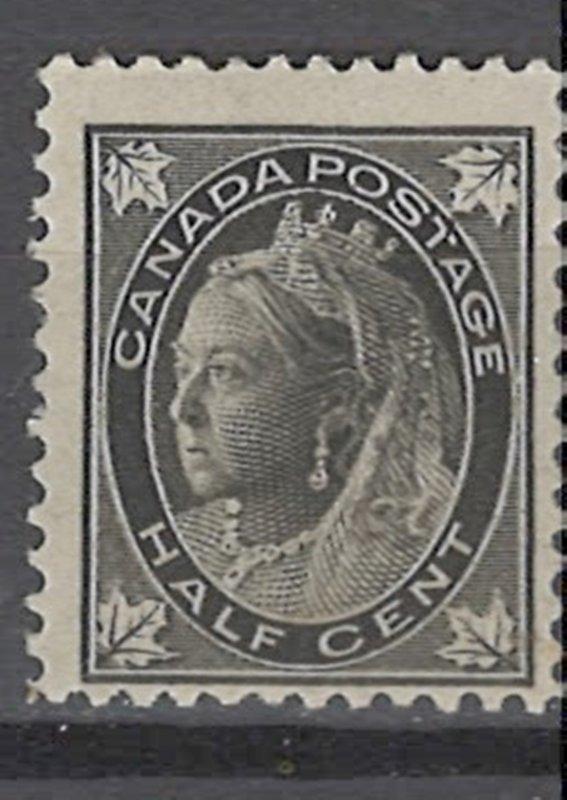 COLLECTION LOT # 3632 CANADA #66 MH 1897 CV+$15