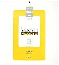 Scott Mounts Black,184/165 mm (pkg 4)  (01022B)