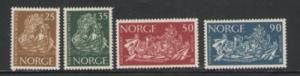 Norway Sc 433-6 1963 Freedom from Hunger stamps mint NH