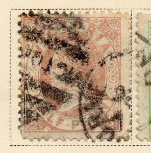 Victoria 1884-86 Early Issue Fine Used 1/2d. 326805