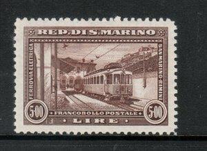 San Marino #142 Very Fine Mint Lightly Hinged