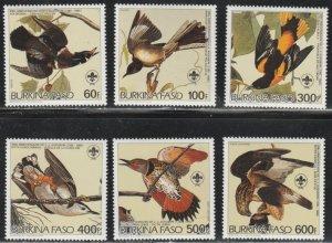 Burkina Faso #717-722 MNH Full Set of 6 cv $20.70
