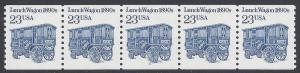 #2464a 23c Lunch Wagon 1890s PNC/5 P#3 SG 1993 Mint NH