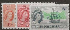 St Helena 156-158 nh