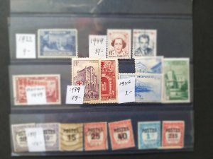 Lot Monaco used/unused CV € 95