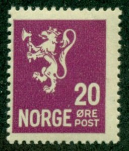 NORWAY #118, Mint Hinged, Scott $22.50