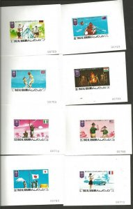 1971 Scouts Ras Al Khaima World Jamboree Japan deluxe SS (8)