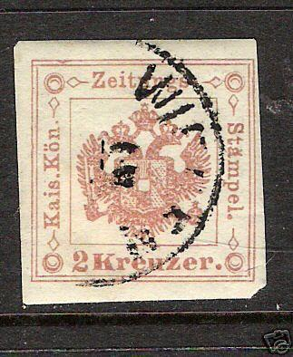 355C AUSTRIA PR3a RED BROWN 2 KR TYPE I VFU