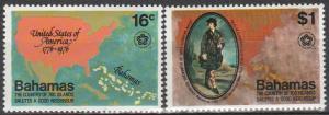 Bahamas #392-3  MNH (S2922)