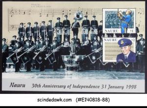 NAURU - 1998 30th ANNIVERSARY OF INDEPENDENCE - MIN/SHT MNH