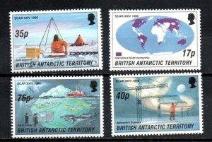 British Antarctic Territory 235-238 MNH