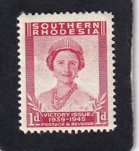 Southern Rhodesia   #    67     unused