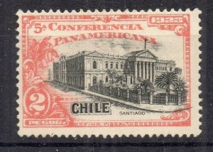 Chile 1923 Pan America Issue Mint hinged Shade of 2P. NW-13110
