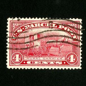 US Stamps # Q4 Superb Used Gem